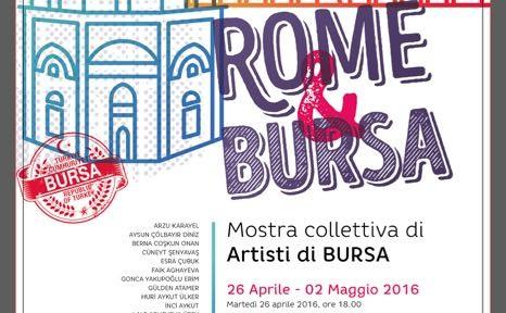Artisti di Bursa a Roma 2016  - 1
