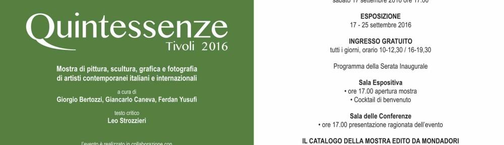 Quintessenze 2016 Tivoli Invito